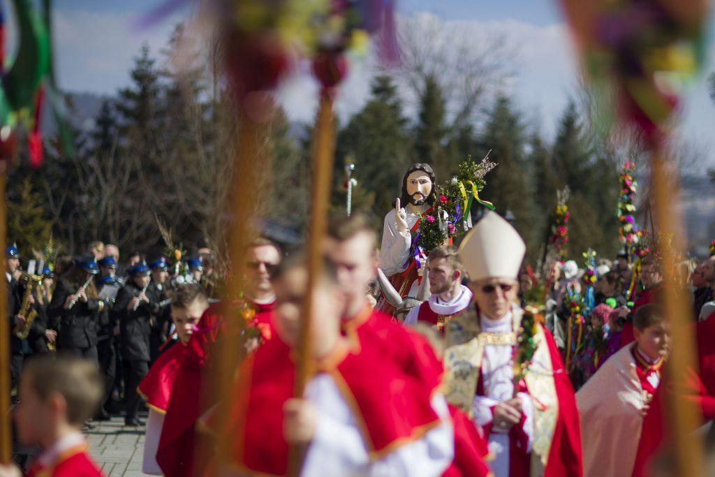 Niedziela Palmowa w Lipnicy Murowanej, Tokarni i Rabki Zdroju