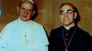Papież Paweł VI i abp Oscar Romero