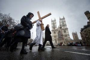 Droga krzyżowa ulicami Londynu - n/z katedra Westminsterska