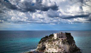 sanktuarium szlak pielgrzymka, kościół, morze, Włochy