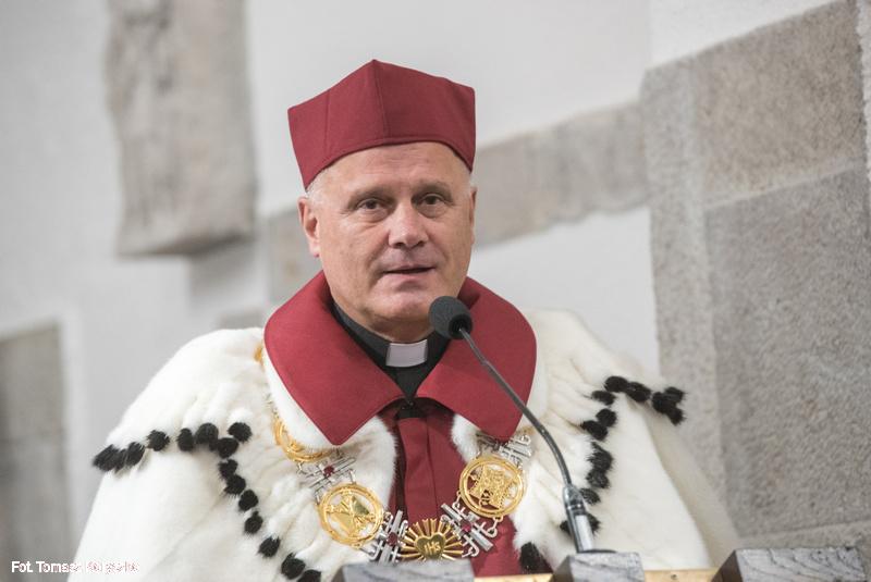 Antoni Dębiński, rektor KUL