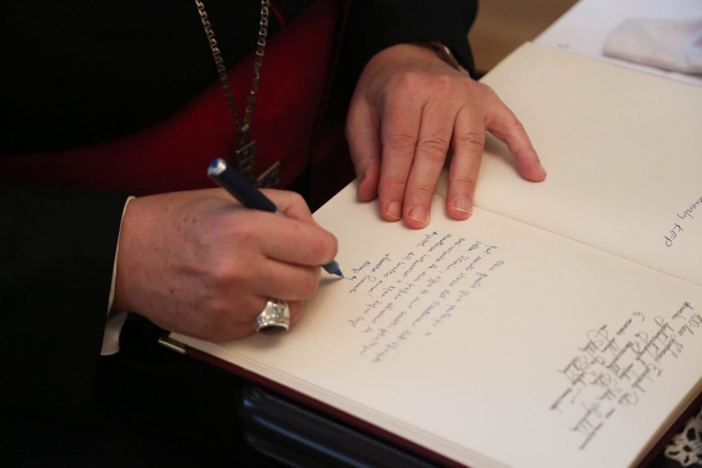 zebranie plenarne, podpis