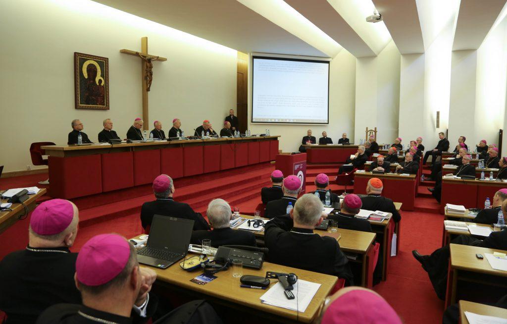 biskupi, KEP, zebranie plenarne,