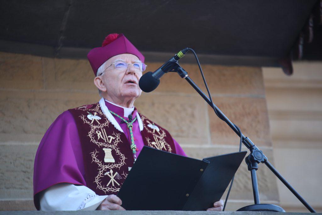 abp Jędraszewski, misterium, Kalwaria Zebrzydowska