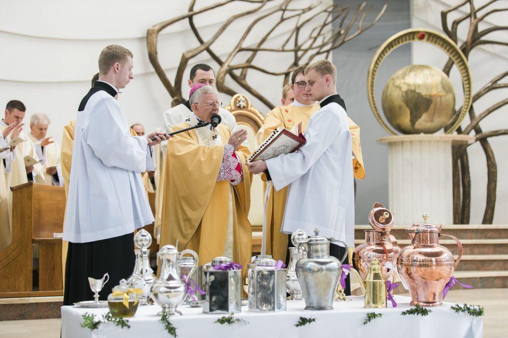 Msza Krzyżma, Łagiewniki, abp Jędraszewski