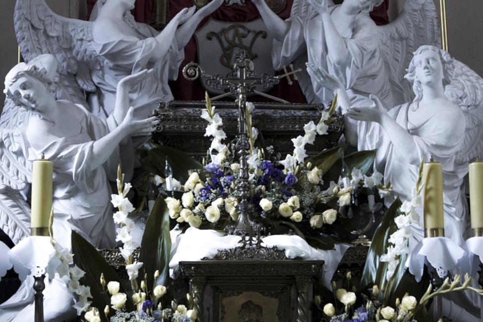 Kaplica bł. Wincentego Kadłubka w archiopactwie cysterskim odzyskuje blask